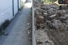 Demolizione-muro-Via-Strettola-Vietri